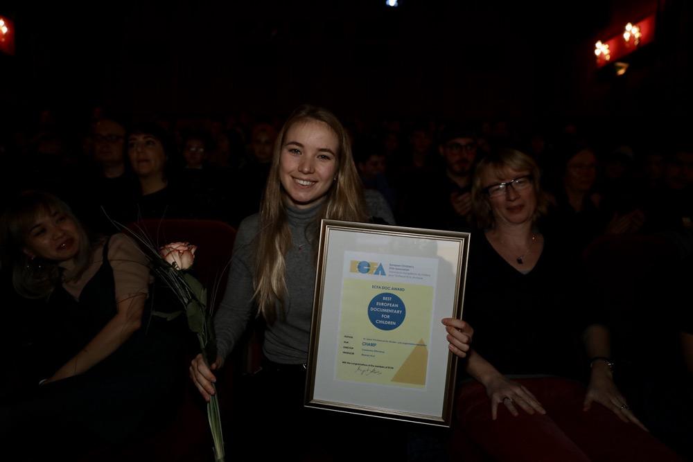 Cassandra Offenberg (Preisträgerin ECFA Doc Award 2019)