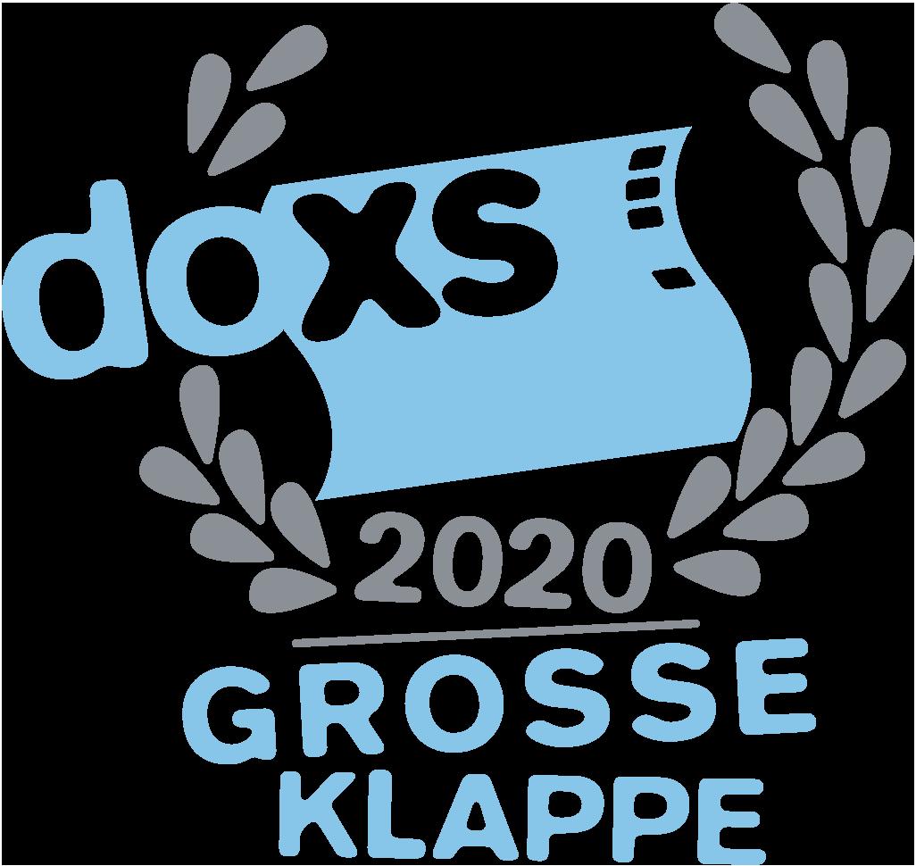 GROSSE KLAPPE 2020