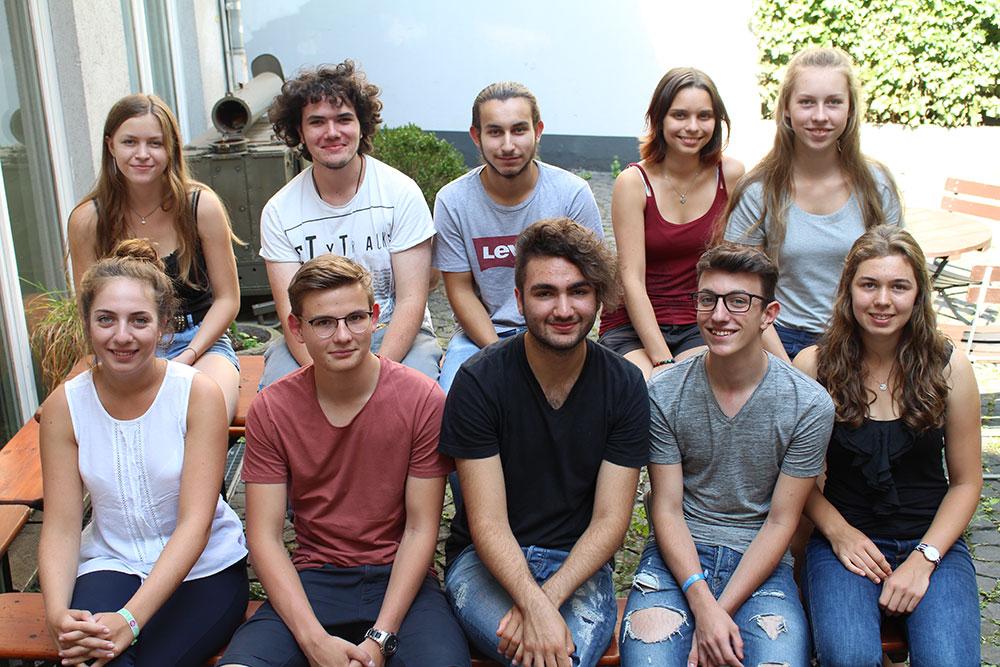 Die zehnköpfige Jugendjury aus Duisburg, Bochum und Moers