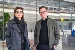 Gudrun Sommer und Christian Koch