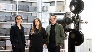 Gudrun Sommer, Tanja Tlatlik, Christian Koch, Fotograf: Dirk Rose
